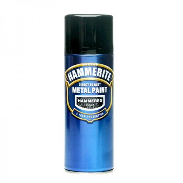 Hammerite Direct To Rust Hammered Finish 400ml Aerosol