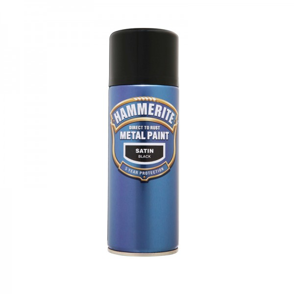 Hammerite Direct To Rust Satin Finish 400ml Aerosol
