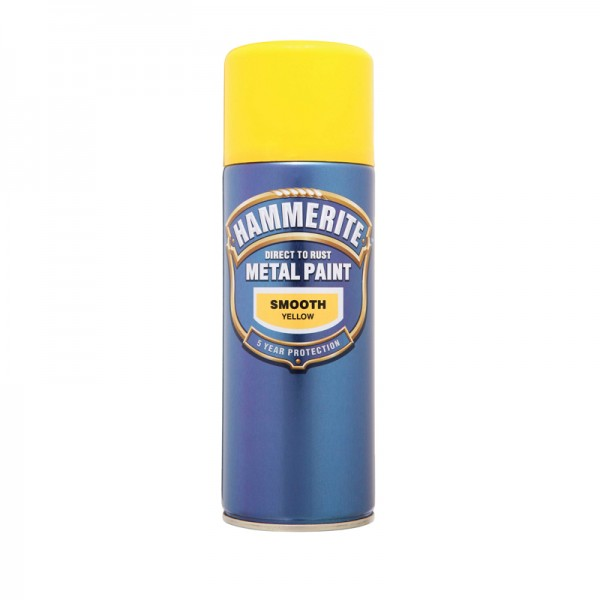 Hammerite Direct To Rust Smooth Finish 400ml Aerosol