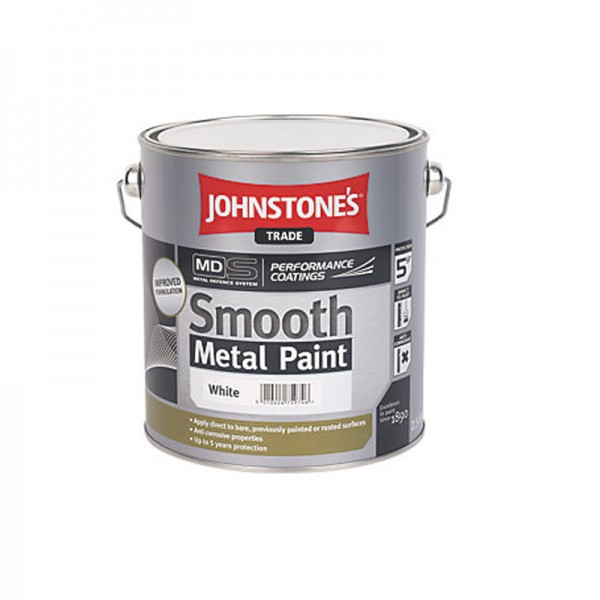 Johnstones Smooth Metal Paint (Mixed To Order)